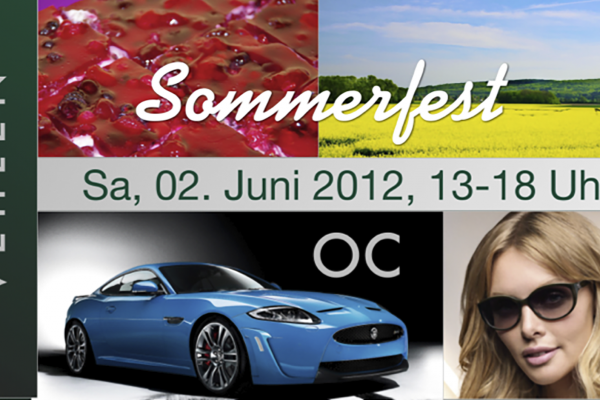 Sommerfest Optiker Vehlen, Optic Center Schaumburg